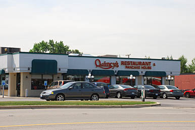 Quincy's Pancake House & Restaurant in Naperville, Illinois